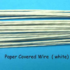 Paper Covered Wire - Green 18g