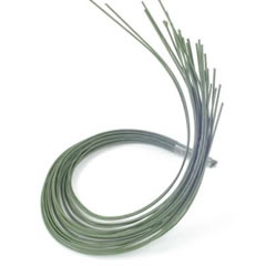 Paper Covered Wire - Green 22g